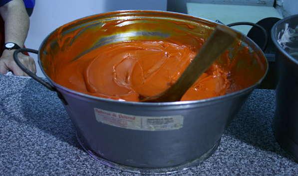 Manteca colorá