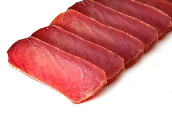 Mojama de atún